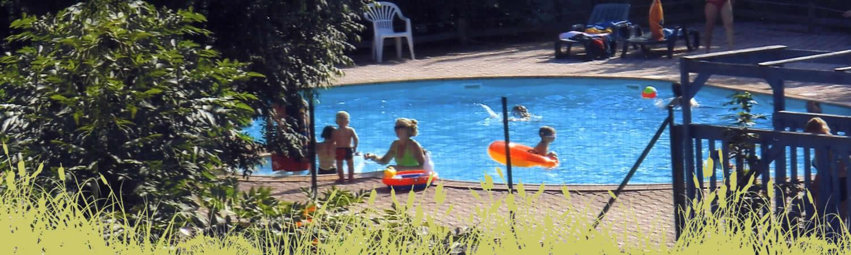 Une piscine, et bien d'autres activités au camping